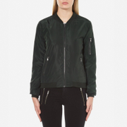 ONLY Women's New Linea Nylon Jacket - Jet Set