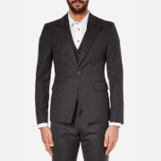 Vivienne Westwood MAN Men's Wool Waistcoat and Suit Jacket - Smoky Black
