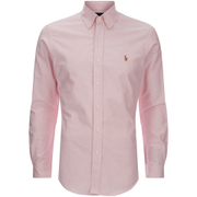 Polo Ralph Lauren Men's Slim Fit Button Down Stretch Oxford Shirt - Pink