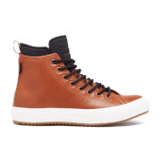Converse Men's Chuck Taylor All Star II Leather/Neoprene Boot Hi-Top Trainers - Antique Sepia/Black