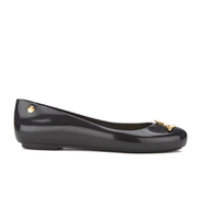 Vivienne Westwood for Melissa Women's Space Love 16 Ballet Flats - Black Orb
