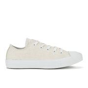 Converse Women's Chuck Taylor All Star Sting Ray Leather Ox Trainers - White/Black/White