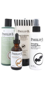 Philip B Four Step Hair and Scalp Facial Treatment Set
