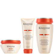 Kérastase Nutritive Fondant Magistral 200ml & Nutritive Bain Magistral 250ml & Nutritive Masque Magistral 200ml