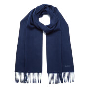 Barbour Women's Lambswool Woven Scarf - Navy