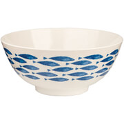 Sieni Fishie on a Dishie Melamine Serving Bowl