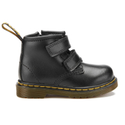 Dr. Martens Toddlers' Brooklee BV Velcro Leather Boots - Black