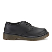 Dr. Martens Kids' Everley Leather Lace Shoes - Black