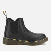 Dr. Martens Kids' Banzai Softy T Leather Chelsea Boots - Black