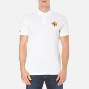 Polo Ralph Lauren Men's Short Sleeve Large Logo Polo Shirt - White