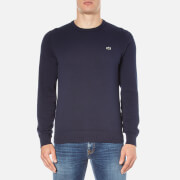 Lacoste Men's Crew Neck Jumper - Navy Blue