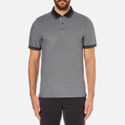 Michael Kors Men's Tipped Birdseye Polo Shirt - Black