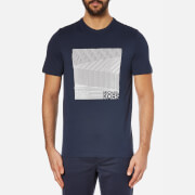 Michael Kors Men's Herringbone Graphic T-Shirt - Midnight