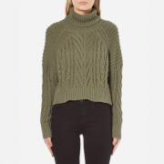 C/MEO COLLECTIVE Women's Two Can Win Jumper - Khaki
