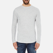 Selected Homme Men's Ludvig Long Sleeve Top - Light Grey Melange