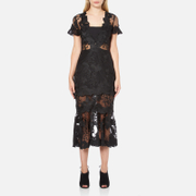 Three Floor Women's Floral Feeling Dress - Black
