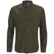 The North Face Men's Denali Long Sleeve Shirt - Rosin Green
