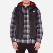 Superdry Men's Polar Sports Puffer Gilet - Black