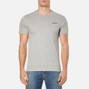 Superdry Men's Orange Label Vintage Embroidered T-Shirt - Grey Marl