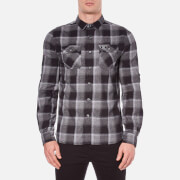 Superdry Men's Refined Lumberjack Long Sleeve Shirt - Nightfall Check