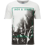 Jack & Jones Men's Originals Coffer T-Shirt - Cloud Dancer/Purple
