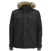 Jack Wolfskin Men's Point Barrow Parka Jacket - Black