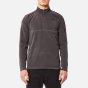 Jack Wolfskin Men's Gecko Fleece Jumper - Dark Steel