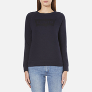 Levi's Women's Classic Crew Sweatshirt - Nightwatch Blue