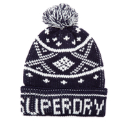 Superdry Men's Oban Beanie Hat - Navy White