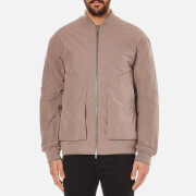 Helmut Lang Men's Oversized Bomber Jacket - Walnut