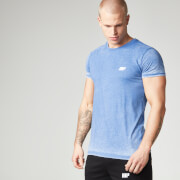 Burnout-T-Shirt - Blue