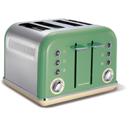 Morphy Richards 242006 New Accents 4 Slice Toaster - Sage (Trim Included)