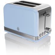 Swan ST19010BLN 2 Slice Toaster - Blue