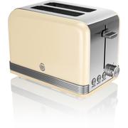 Swan ST19010CN 2 Slice Toaster - Cream