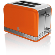 Swan ST19010ON 2 Slice Toaster - Orange
