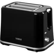 Tower T20009 2 Slice Toaster - Black