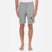 Calvin Klein Men's Large Logo Shorts - Mod Grey Heather
