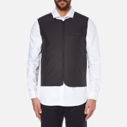 Folk Men's Wadded Gilet - Black