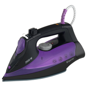 Elgento E22001 2600W Ceramic Soleplate Iron - Purple