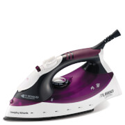 Morphy Richards 40699 Turbosteam Iron - Plum/Black