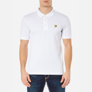 Lyle & Scott Men's Short Sleeve Polo Shirt - White