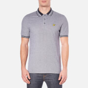 Lyle & Scott Men's Short Sleeve Oxford Polo Shirt - Navy