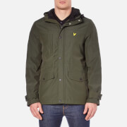 Lyle & Scott Men's Micro Fleece Lined Jacket - Dark Sage
