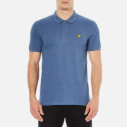 Lyle & Scott Men's Short Sleeve Polo Shirt - Indigo Marl