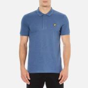 Lyle & Scott Men's Short Sleeve Polo Shirt - Indigo Marl