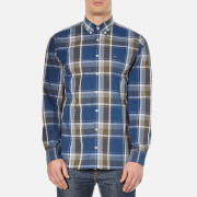 Tommy Hilfiger Men's Birgen Check Long Sleeve Shirt - Grape Leaf/Dutch Navy/Multi
