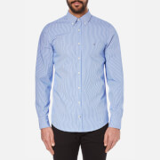 Tommy Hilfiger Men's Lexington Long Sleeve Shirt - Shirt Blue