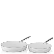 Tower Linear Fry Pan Set - White (2 Piece)