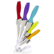 Ciclour MCK24021 Cook in Colour Knife Block - Multi (5 Piece)