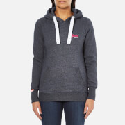 Superdry Women's Orange Label Primary Hoody - Eclipse Navy Jaspe
